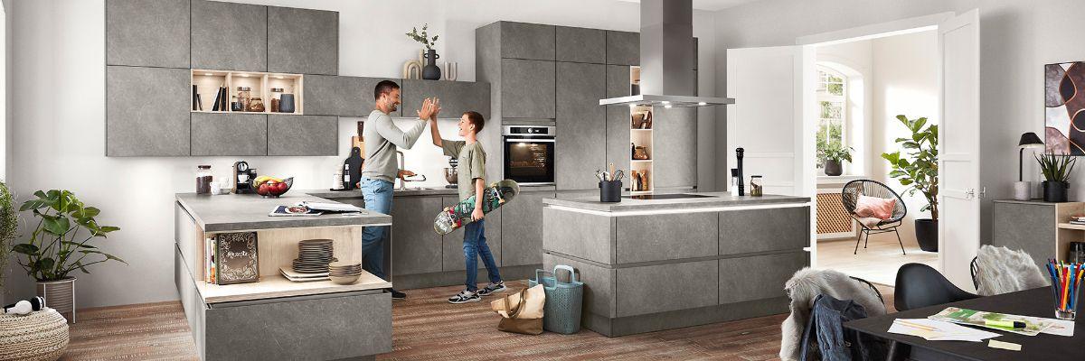 nobilia Küchen - Küche kaufen Küchenstudio Mosbach Küchengalerie